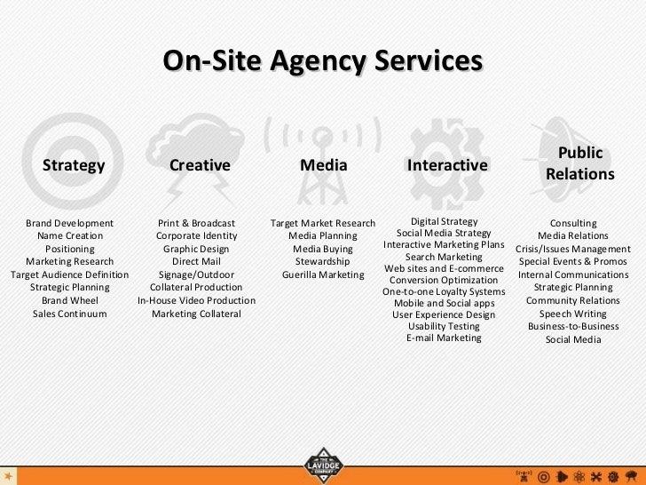 Agency Offerings