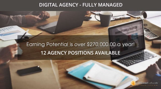 TAP INTO A MULTI-MILLION DOLLAR INDUSTRY AND PROFIT WITH YOUR OWN DIGITAL AGENCY IN THREE EASY STEPS...