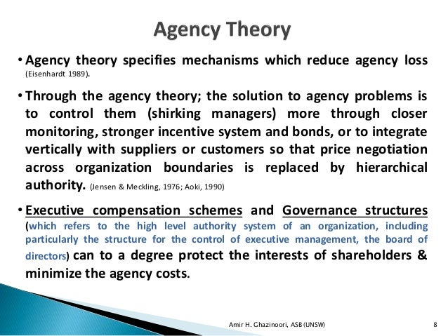 definition of agency theory Definition of apparent agency in the legal dictionary - by free online english dictionary and review to resolve the question of when a nonnegligent person or entity may be held vicariously liable on an apparent agency theory for physical injuries negligently inflicted by a medical.