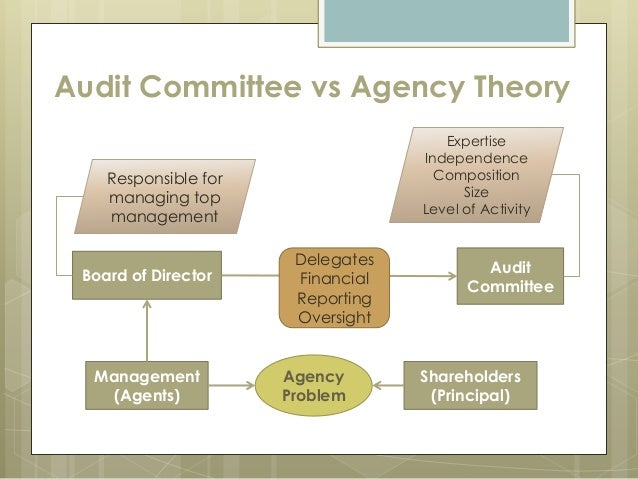 agency problems auditing and the theo Theory of the firm: managerial behavior 14 agency costs many problems associated with the inadequacy of the current theory of the firm can also.