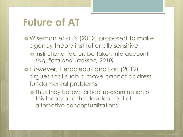 agency theory Definition of agency theory - our online dictionary has agency theory information from encyclopedia of business and finance, 2nd ed dictionary encyclopediacom: english, psychology and medical dictionaries.