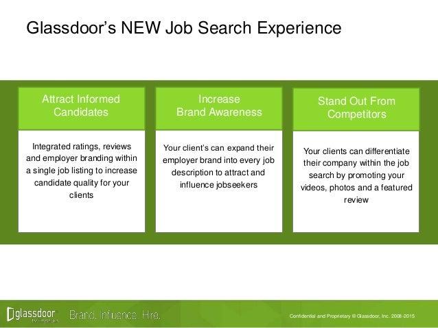 Agency Training Glassdoors New Job Search Experience