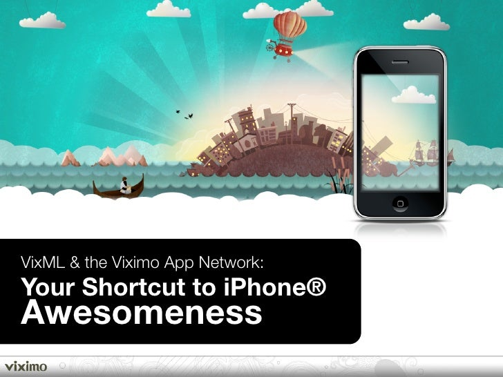 VixML & the Viximo App Network: Your Shortcut to iPhone® Awesomeness