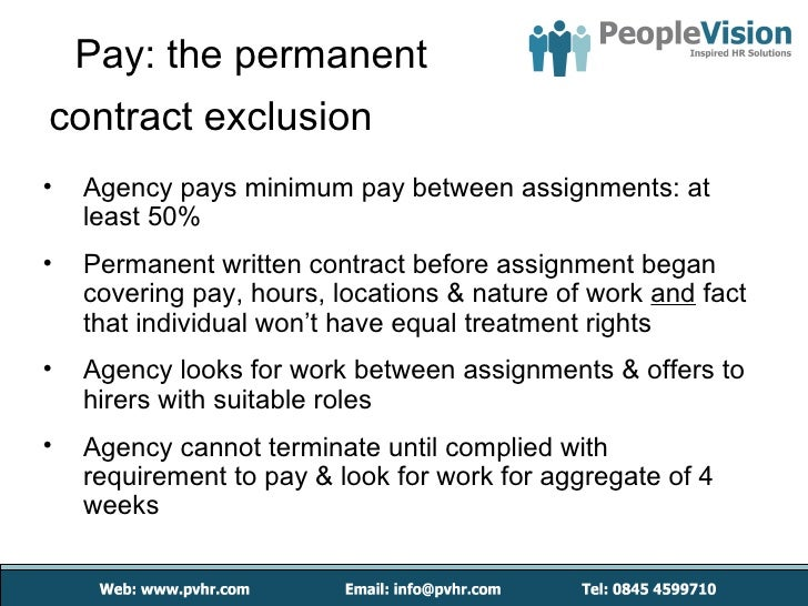 pay between assignments