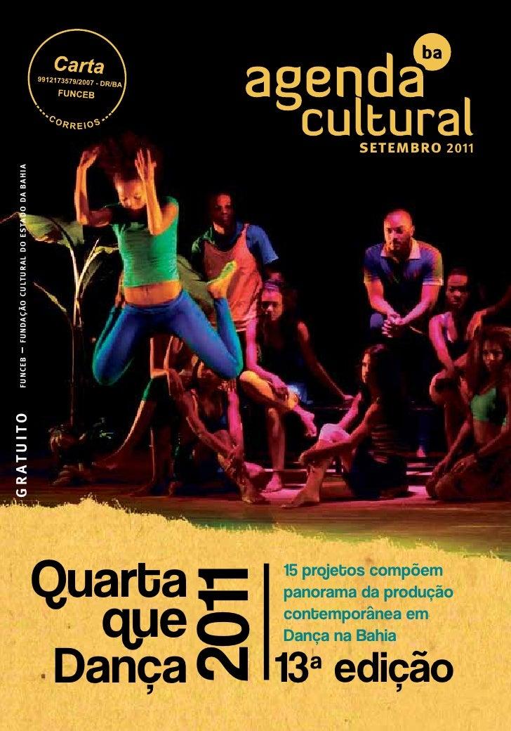 setembro 2011 – fundação cultural do estado da bahia          funcebG R AT U I T O                                        ...