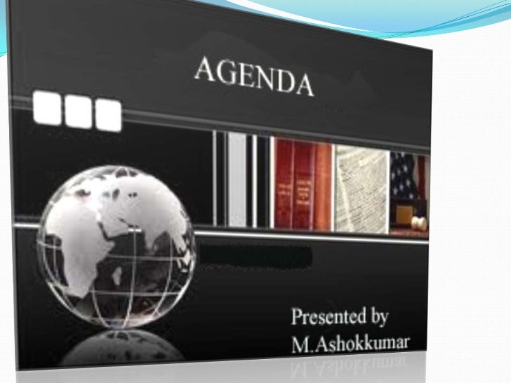 WHAT IS AN AGENDA?                DEFINITION:                        Agenda is a document that outlines the contents      ...