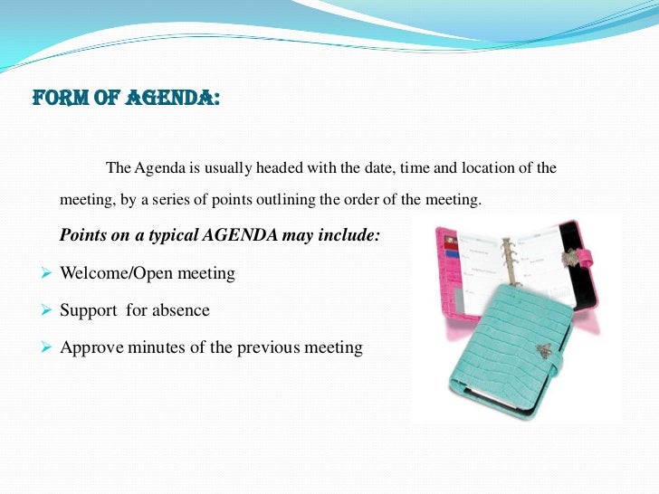 What Is An Agenda. 10 How To Create An Effective Agenda Agenda ...