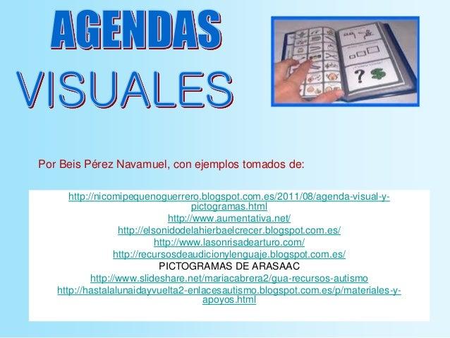 http://nicomipequenoguerrero.blogspot.com.es/2011/08/agenda-visual-y- pictogramas.html http://www.aumentativa.net/ http://...