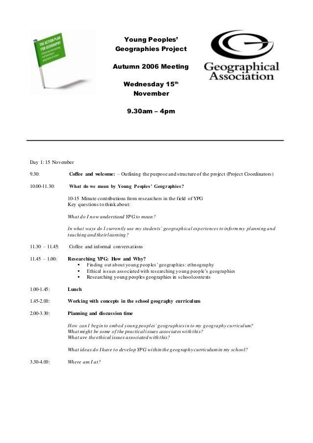 Day 1: 15 November 9.30: Coffee and welcome: – Outlining the purpose and structure of the project (Project Coordinators) 1...
