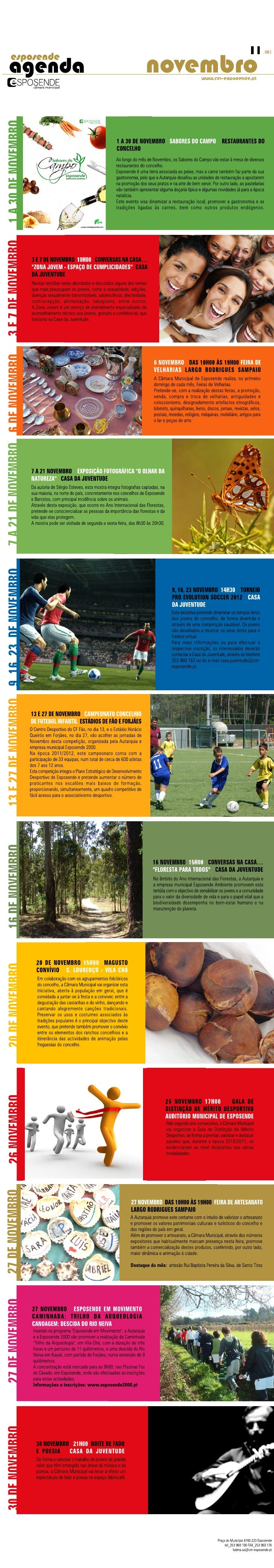 Agenda novembro-2011