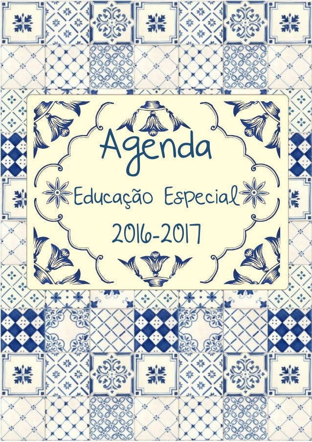 Agenda Educação Especial 2016-2017