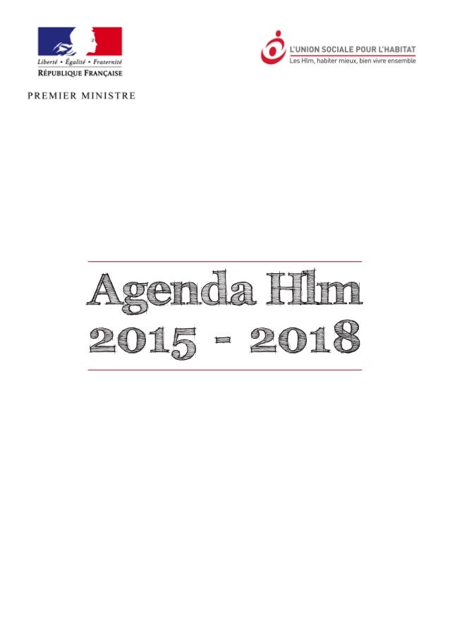 Agenda Hlm 2015 - 2018