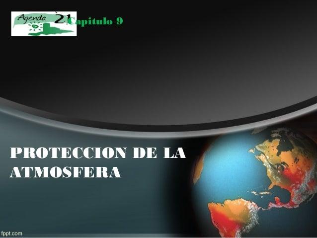Capitulo 9PROTECCION DE LAATMOSFERA
