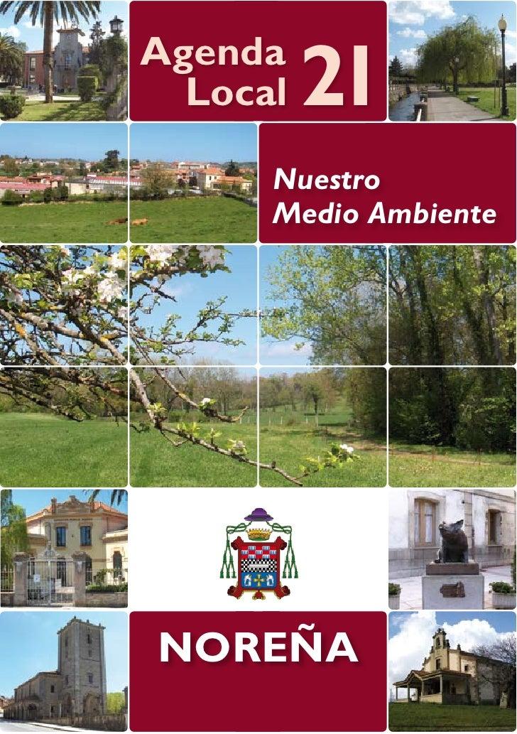 Agenda  Local   21      Nuestro      Medio AmbienteNOREÑA