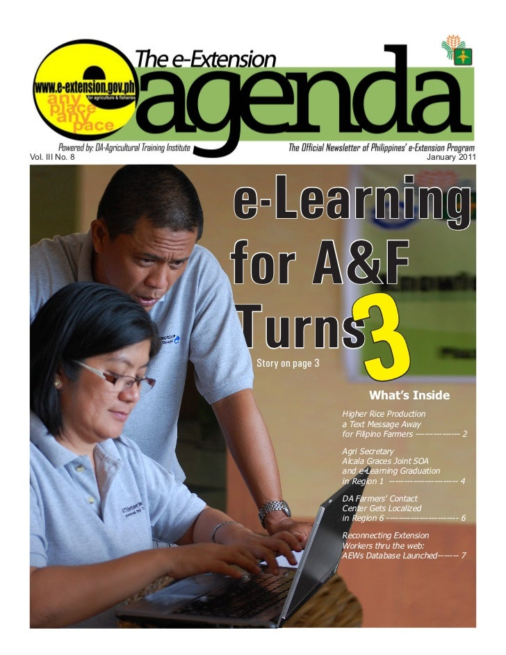 Vol. III No. 8                                                January 2011                 e-Learning                 for ...