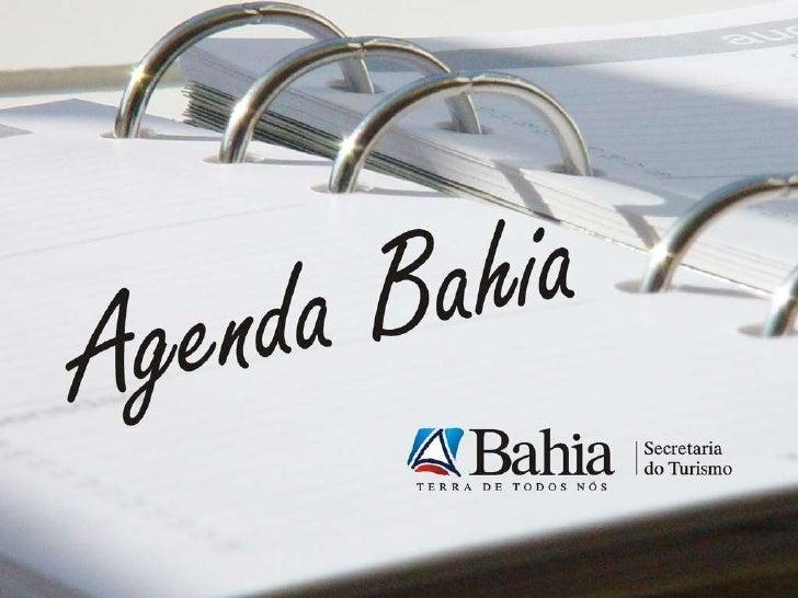 Agenda Bahia - Turismo