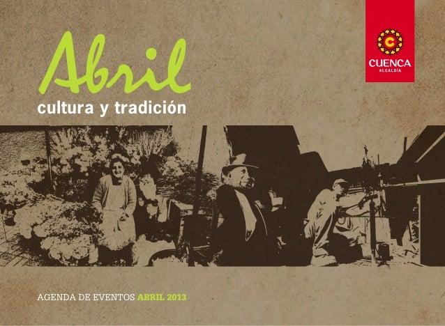 PRESENTACIÓNEl mayor orgullo de Cuenca es su gente. Su humildad            obras concretas en agua potable y alcantarillad...