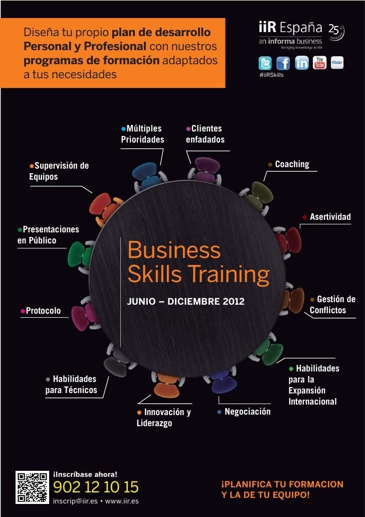 Diseña tu propio plan de desarrollo Personal y Profesional con nuestros programas de formación adaptados a tus necesidades...