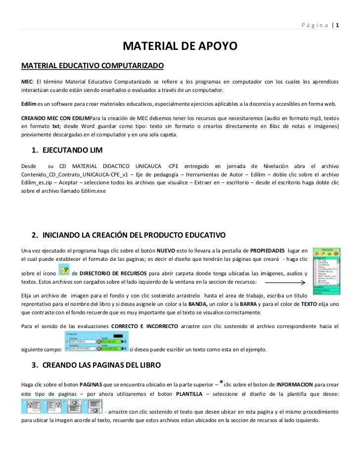 MATERIAL DE APOYO<br />MATERIAL EDUCATIVO COMPUTARIZADO<br />MEC: El término Material Educativo Computarizado se refiere a...
