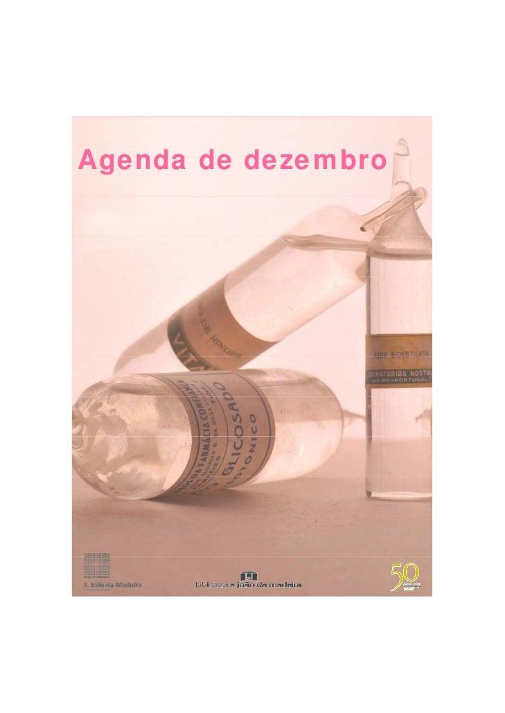 Agenda de dezembro