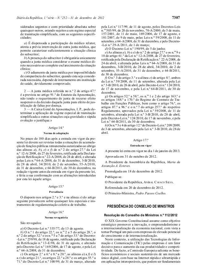 Diário da República, 1.ª série — N.º 252 — 31 de dezembro de 2012                                                         ...