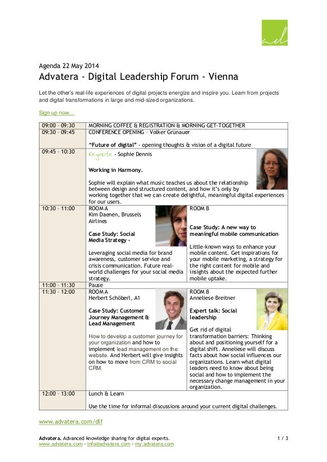 Advatera. Advanced knowledge sharing for digital experts. 1 / 3 www.advatera.com · info@advatera.com · my.advatera.com Age...