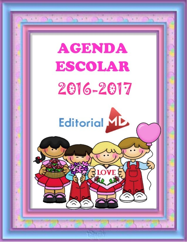 editorialmd.com AGENDA ESCOLAR 2016-2017