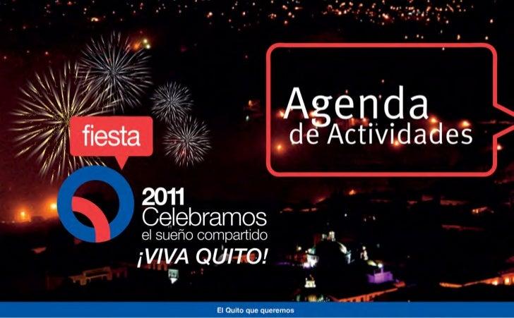 Agenda Fiesta Q 2011