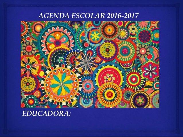 Agenda gaby velazquez 2016 2017 for Agenda moleskine 2016 2017