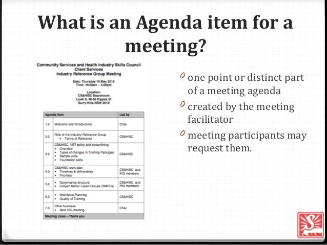 What Is An Agenda. What Is The Purpose Of An Agenda Agenda Item ...