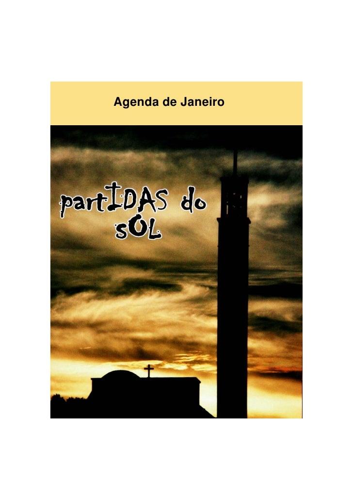 Agenda de Janeiro