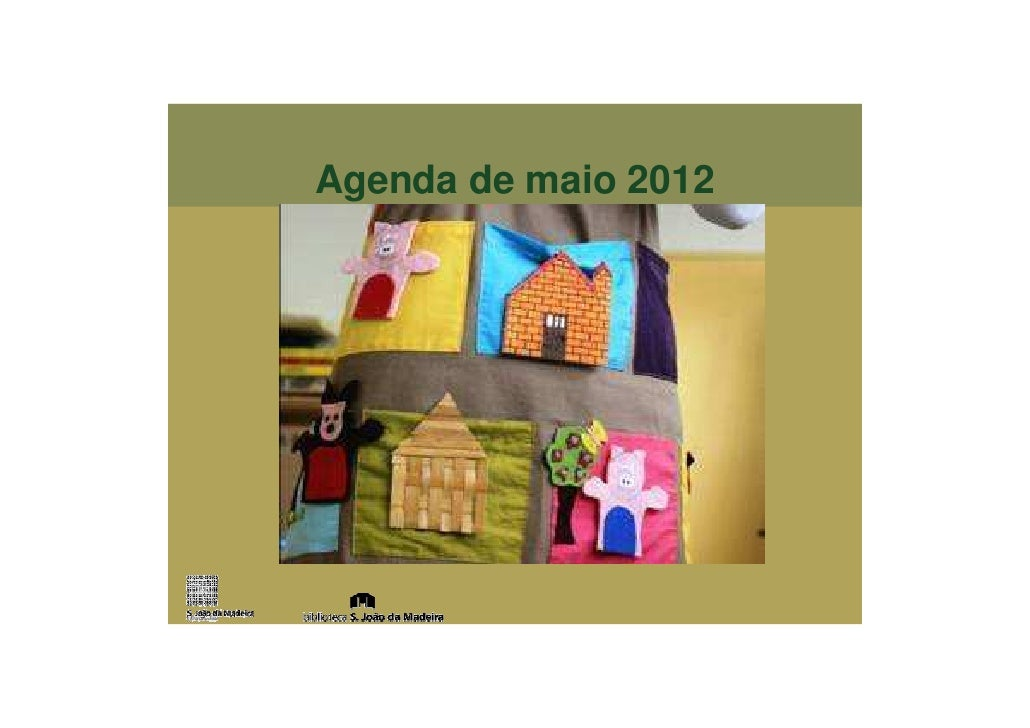 Agenda de maio 2012