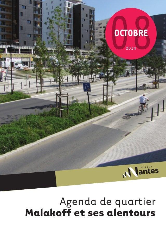 08octobre  2014  Agenda de quartier  Malakoff et ses alentours