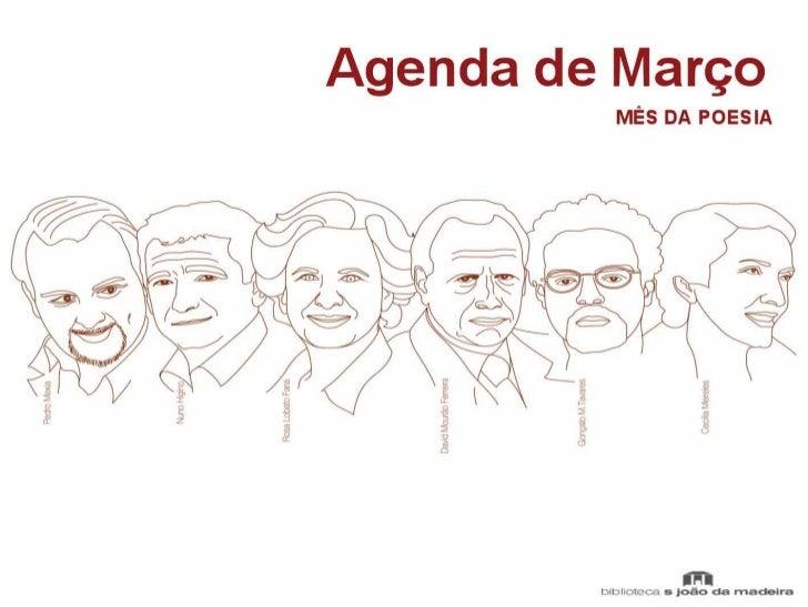 Agenda março