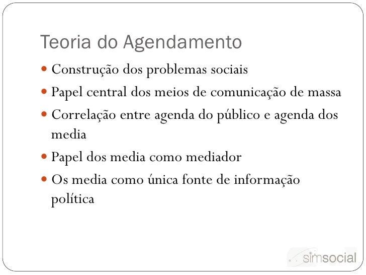 Agendamento e Twitter: um estudo exploratório Slide 2