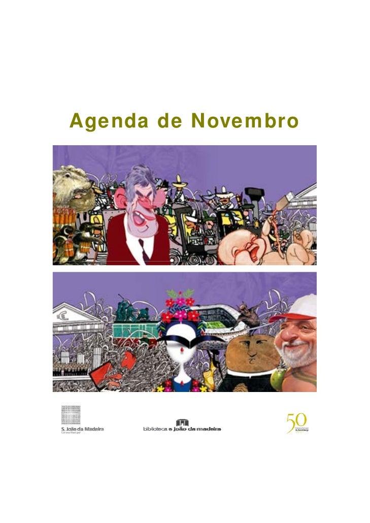 Agenda de Novembro
