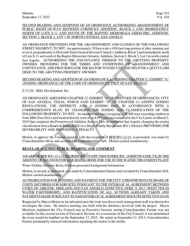 October 1 2013 agenda packet 10 platinumwayz
