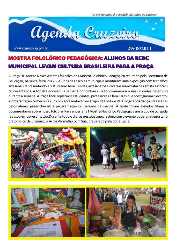 www.cruzeiro.sp.gov.br                                                       29/08/2011       FOLCLÓRICO PEDA        ALUNO...