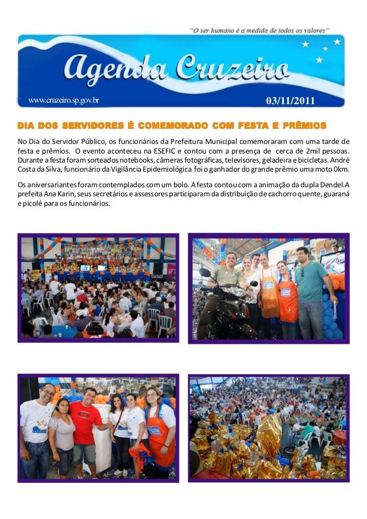 www.cruzeiro.sp.gov.br                                                       03/11/2011        SERVIDORES                 ...