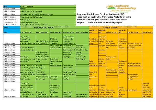 Agenda Resumen del SFD Bogota en 2 Hojas Slide 2
