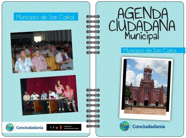 AGENDA CIUDADANA Municipal Municipio de San Carlos Municipio de San Carlos