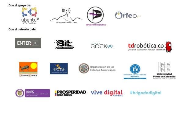 Agenda SFD Bogotá 2013 - 27 y 28 de Septiembre Slide 3