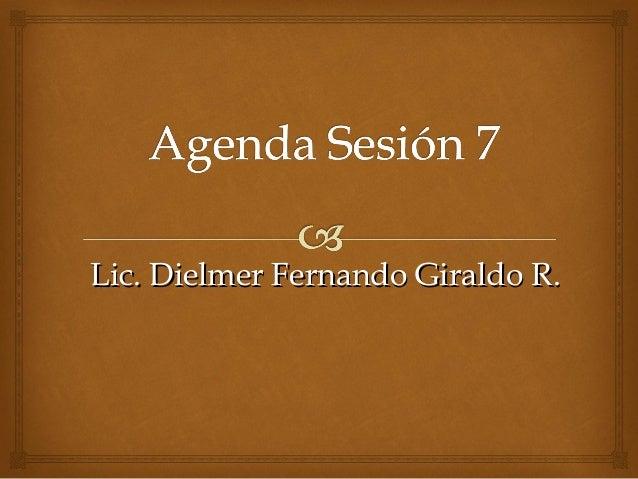 Lic. Dielmer Fernando Giraldo R.Lic. Dielmer Fernando Giraldo R.