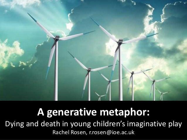 A generative metaphor: Dying and death in young children's imaginative play Rachel Rosen, r.rosen@ioe.ac.uk
