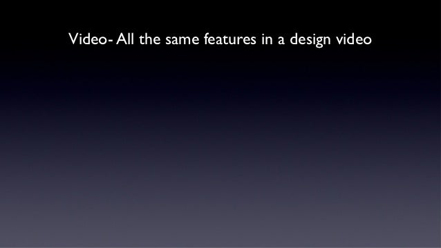 A generic apple steve jobs style keynote address presentation video all the same features in a design video toneelgroepblik Choice Image