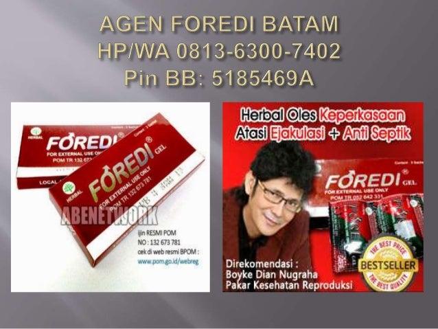  Menjual Foredi,  Produk yang  direkomendasikan  oleh Pakar Kesehatan  Reproduksi Nasional  BOYKE DIAN  NUGRAHA, produk  ...