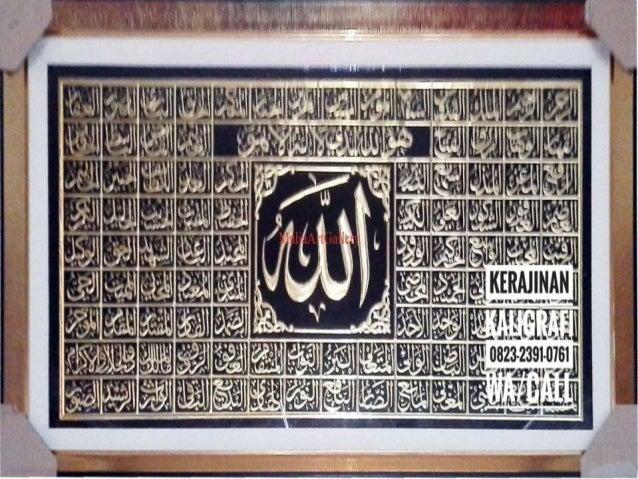 0823 2391 0761 Wa Call Tsel Jual Kaligrafi Kuningan Semarang