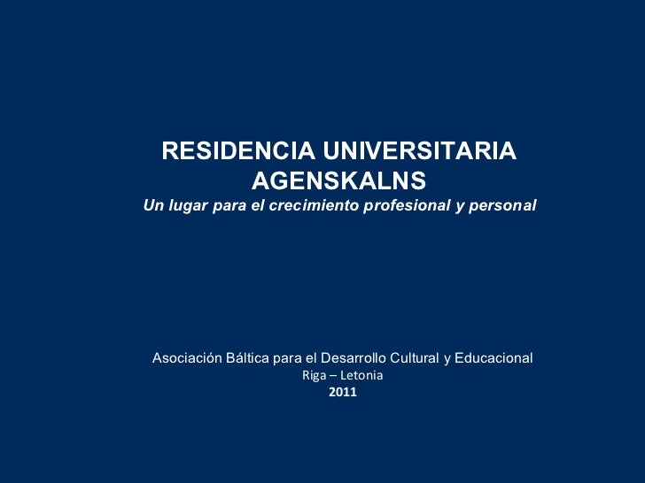 <ul><li>Asociación Báltica para el Desarrollo Cultural y Educacional </li></ul><ul><li>Riga – Letonia </li></ul><ul><li>20...