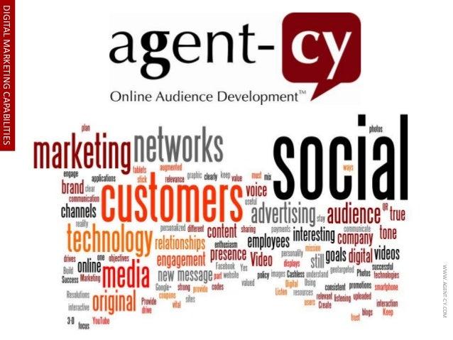 DIGITAL MARKETING CAPABILITIES  WWW.AGENT-CY.COM