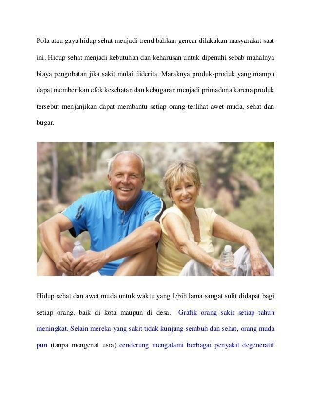 Pola atau gaya hidup sehat menjadi trend bahkan gencar dilakukan masyarakat saat ini. Hidup sehat menjadi kebutuhan dan ke...